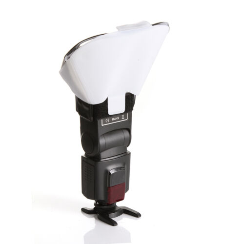 US Flash Diffuser Softbox Reflector for Canon Yongnuo Speedlight 3 Color