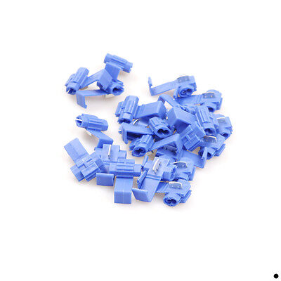 50x Blue Scotch Lock Quick Splice 18awg-14awg Wire Connector Electrical Terminal