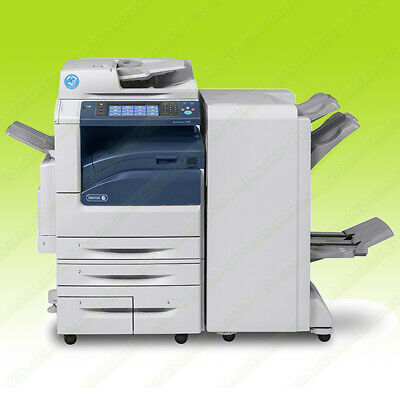 Xerox Workcentre 7970i Laser Color Bw Printer Scan Copy Fax Finisher 70ppm 105k