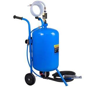 100lb Portable Soda Pressure Abrasive Upgrade Air Sandblaster Silverwater Auburn Area Preview