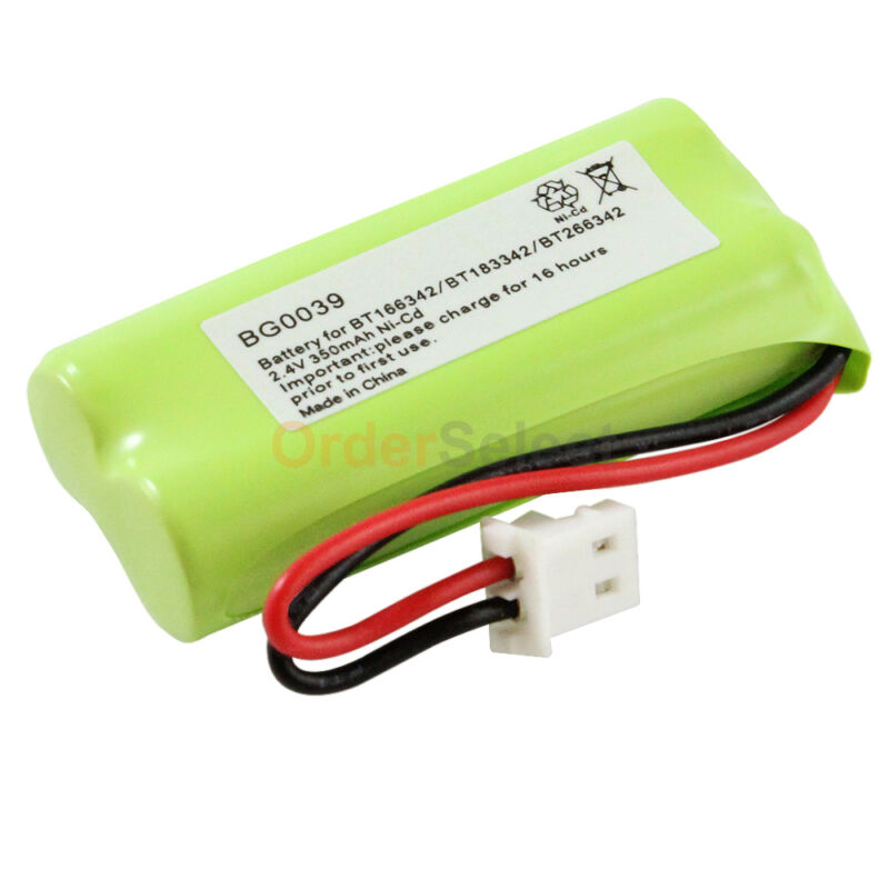 NEW Home Phone Battery for VTech BT166342 BT266342 BT183342 BT283342 200+SOLD