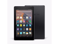 """All-New Amazon Fire 7 Tablet with Alexa 7"""" Display 8GB Black"""