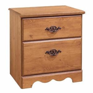 South Shore Furniture 3232060 Prairie 2-Drawer Nightstand - Brand New