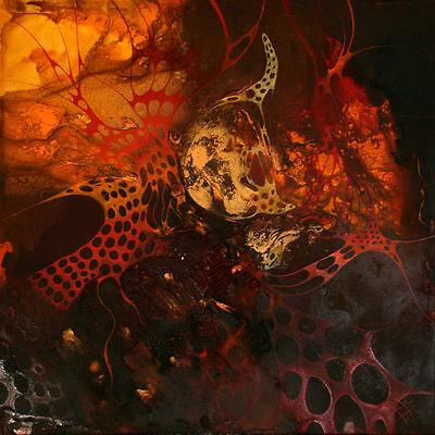 Luxus Moderne100 x100 cm Malerei Abstrakt Öl Acryl Bild Leinwand Bozena Ossowski