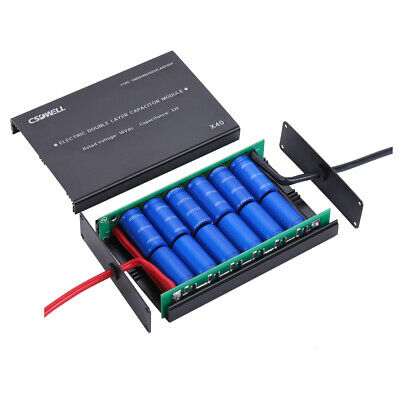 12v Super Capacitor Module 12100 Farad Caps Engine Starting Car Audio