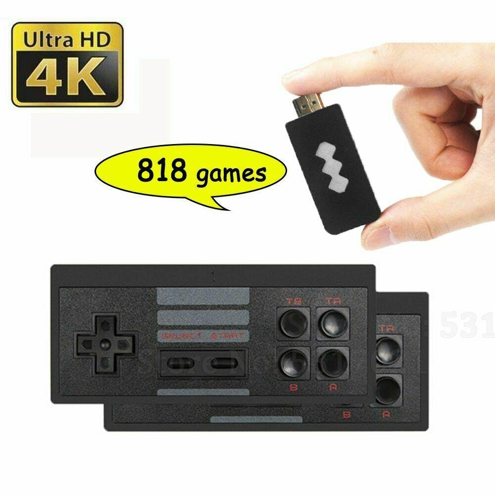 WIRELESS RETRO GAME GAME HDMI STICK CONSOLE 818 GAMES
