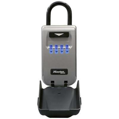Master Lock Box Set Your Own Combination Portable Key Safe With Light Up...