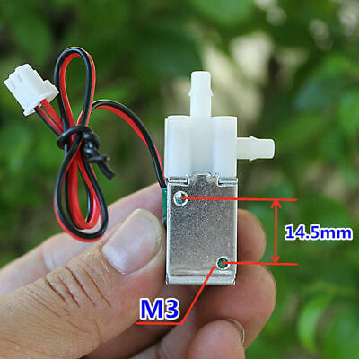 Dc 12v Micro Electric Solenoid Valve Normally Closed For Air Water Control Valve