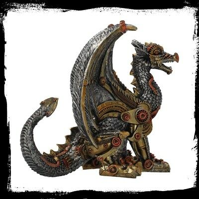 Ornament/Statue/Figurine - Steampunk - MECHANICAL PROTECTOR (Dragon)