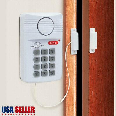 Door Bell Alarm Chime Wireless IR Infrared Monitor Sensor Detector Home Security
