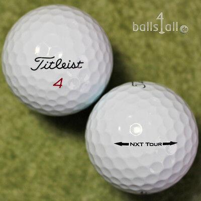 150 Golfbälle Titleist NXT Tour AA Qualität gebrauchte NXTTour Bälle Lakeballs ()