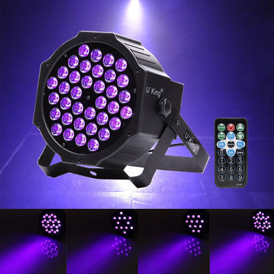 36 LED UV Black Light DMX Par Can Stage Lighting Bar DJ Light Show - Blacklight Parties