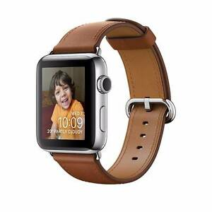 Apple Watch 38mm Stainless steel case Brown Classic Buckle Maroubra Eastern Suburbs Preview