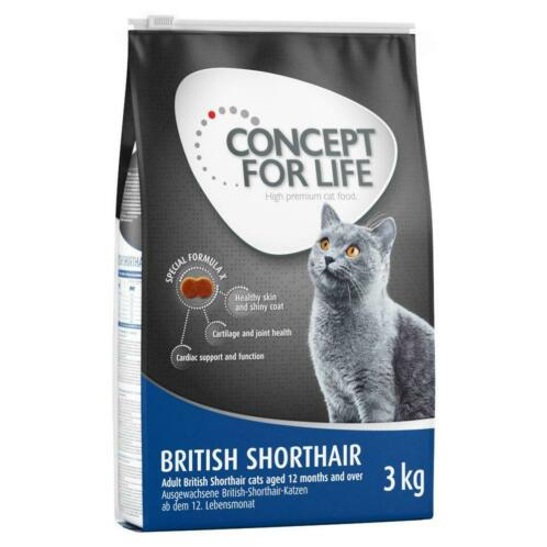 3kg British Shorthair Adult Concept for Life Kattenvoer