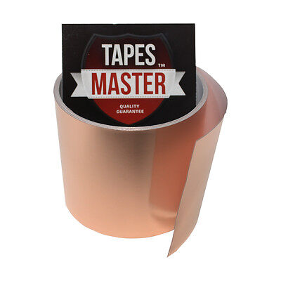 Copper Foil Tape - 3 X 10ft - Emi Conductive Adhesive Ship From Usa