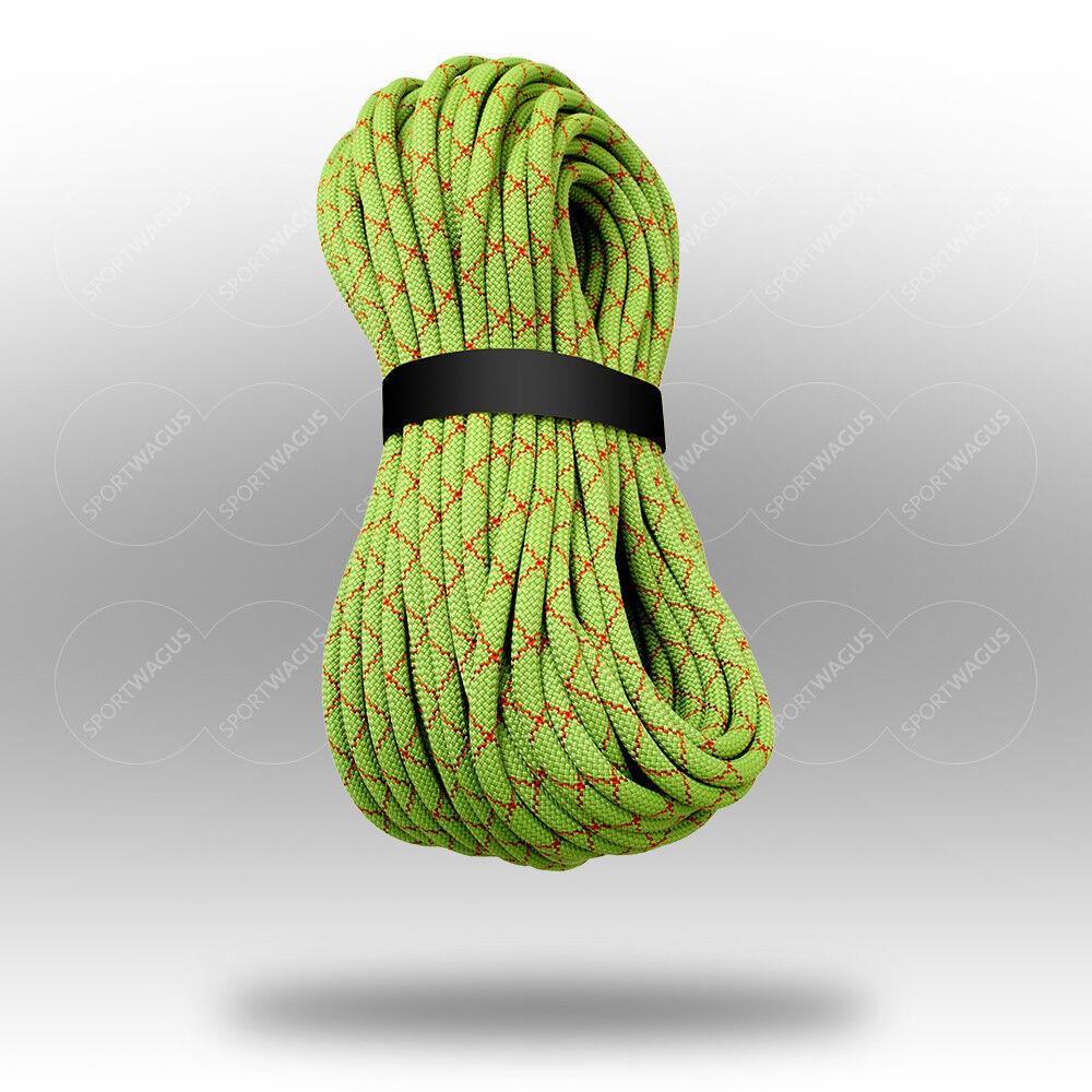 Kletterseil 9,8mm Klettern Meterware: 10 20 30 40 50 60 70 80 ... Seil Sicherung