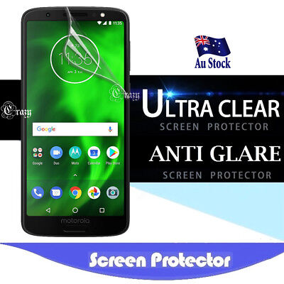 Clear Matte Screen Protector Guard Film For Motorola Moto G6 G6 Plus G6 Play E5 Clear Screen Guard