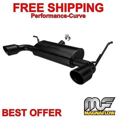 MagnaFlow Cat-Back Performance Exhaust System fits 07-18 Jeep Wrangler 07 Magnaflow Cat Back Exhaust