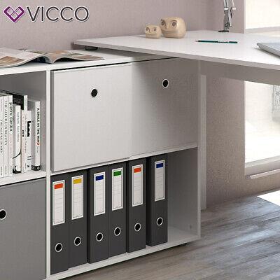 Vicco Eckschreibtisch Flexplus Weiß Farbe Computer