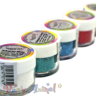 Rainbow Dust HOLOGRAM range NON-TOXIC GLITTER Cake Decorating Sugarcraft Sparkle