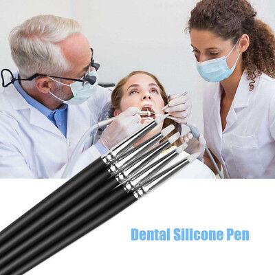 Dental Lab Porcelain Pensilicone Brush Adhesive Composite Resin Cement Teeth