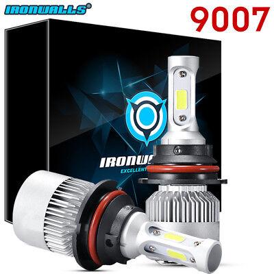 Hb5 9007 Dual Led 1020W 153000Lm Headlight Conversion Bulbs White 6000K Hi Lo