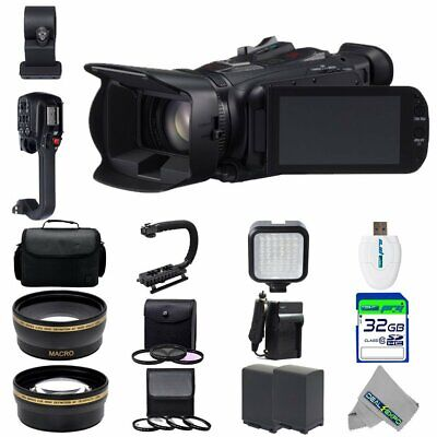 Canon XA20 Professional HD Camcorder + Expo-Advanced Accessories Kit for sale  Shipping to India