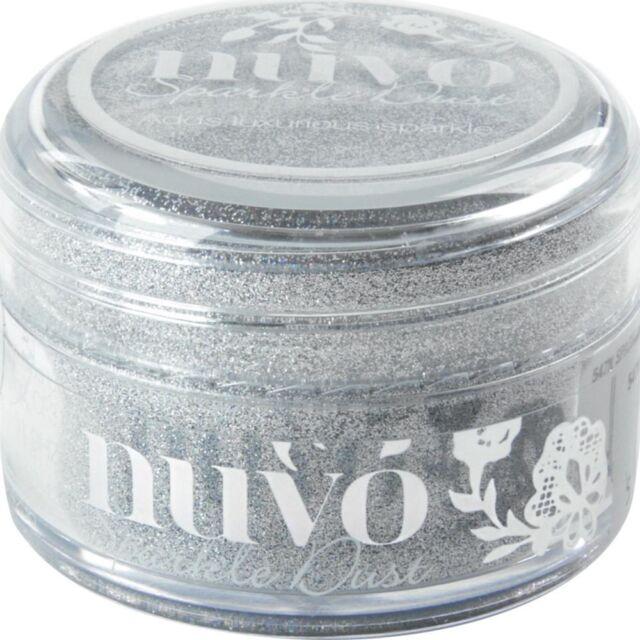 Nuvo Sparkle Dust .5oz -Silver Sequin