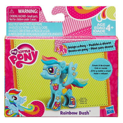 my little pony design a pony rainbow dash ()