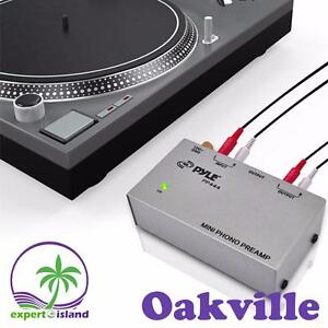 All was NEW Pyle (PP444) Ultra Compact Phono Turntable Pre amp