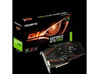 QUICK SALE NVIDIA GeForce G1 Gaming 1060 6GB OC graphics card (gpu) PRICE REDUCED 10/05/2018
