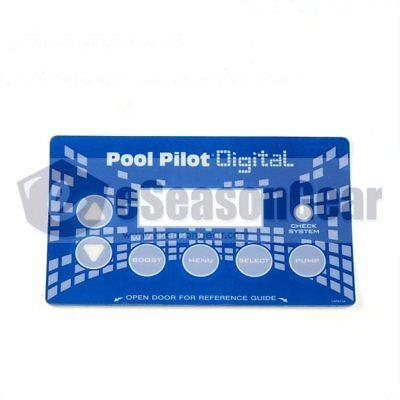 AutoPilot LBP0116 DIG-220 Label - for Pool Pilot Power Supply Front Cover, - Autopilot Pool Pilot