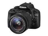 Canon EOS 100D 18.0 MP Digital SLR Camera - Black (Kit with18-55mm Lens) DSLR Excellent Condition
