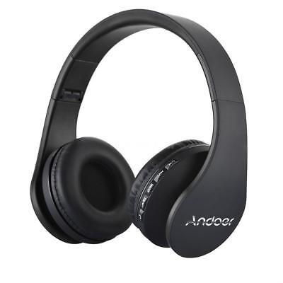 Faltbar Wireless Bluetooth Stereo Bass Kopfhörer Over Ear Headset mit Mic FM MP3 Over-ear-headset