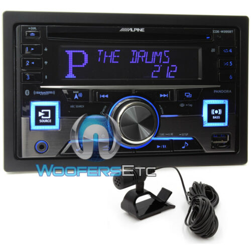 ALPINE CDE-W265BT CD MP3 CAR STEREO USB AUX EQ BLUETOOTH FOR iPHONE & ANDROID