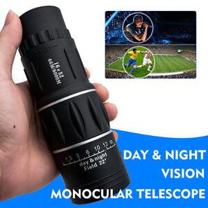 16X52 MONOCULAR SPOTTING SPOTTER BIRD WATCHING TELESCOPE POCKET GOLF SPORT SCOPE