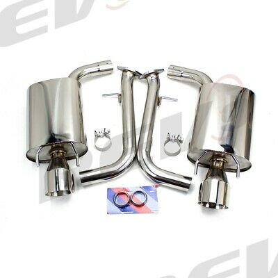 "Rev9 Camaro 10-15 V8 3/"" Dual Axle Back FlowMaxx Exhaust System Straight Muffler"
