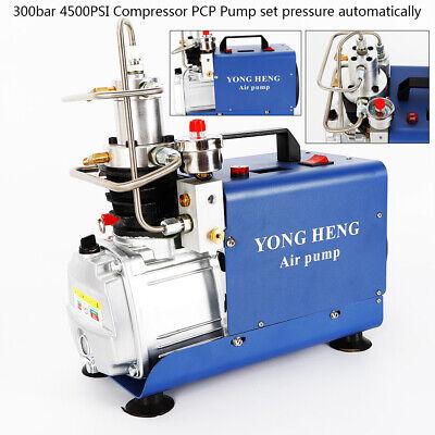 4500psi 30mpa Set Pressure Water Cooling Air Compressor Pump Pcp Airgun Scuba Us