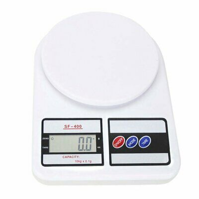Digital Electronic Kitchen Food Diet Postal Scale Weight Balance 10kg 1g 22lb
