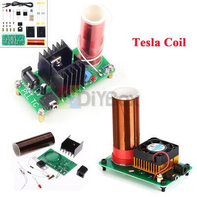 Mini Tesla Coil Plasma Speaker Electronic Music Jx03 15w 15v-24v Finished Diy