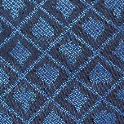 Poker Table Speed Cloth - 10FT X 5FT Blue Two Tone Suited Speed Cloth Poker Table Felt 100% Polyester