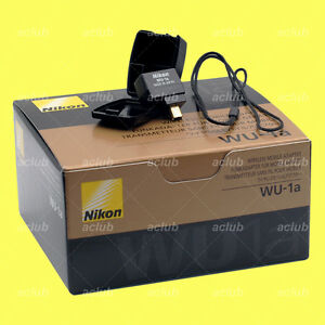 Genuine Nikon WU-1a WU1A Wi-Fi Wireless Mobile Adapter Connector D3200 D5200