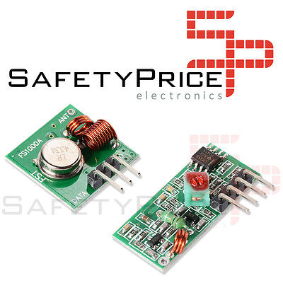 Arduino Rf modulo transmisor y receptor inalambrico 315 MHZ electronica segunda mano  Embacar hacia Mexico