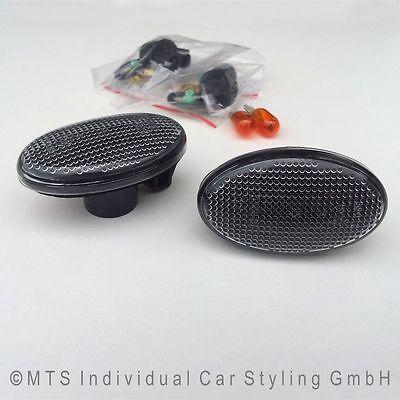 SCHWARZE Seitenblinker Mercedes A-Klasse W168 A160 A170 A190 Vito W639 AM