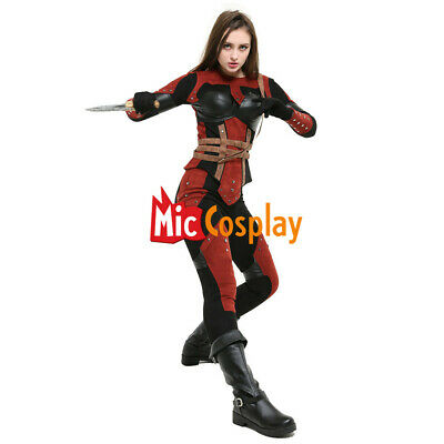 Dark Brotherhood Female Cosplay Costume Mask Hood Women Halloween Outfit](Masquerade Costume Female)