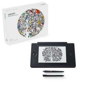 NEW Wacom PTH660P Intuos Pro Graphics Pen Tablet Paper Edition, Medium, Black