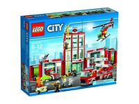 LEGO City #60110 Town City Fire Station Building Set *Brand NEW*
