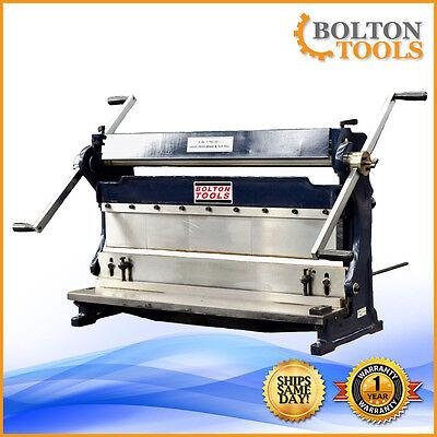 Bolton Tools 30 Combo 3 In 1 Sheet Metal Machine Shear Brake And Roll Sbr3020