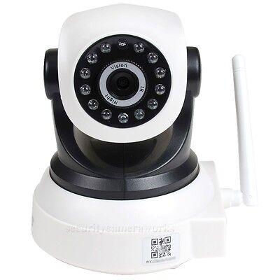 Wireless Wifi Security Camera Baby Monitor IP Network Smartphone IR Night BKW