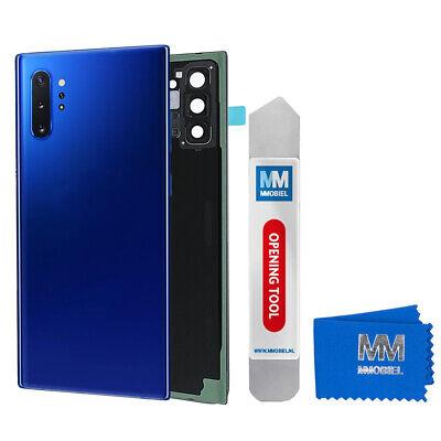 Tapa Batería Parte Trasera Funda Para Samsung Galaxy Note 10 Plus (Azul)